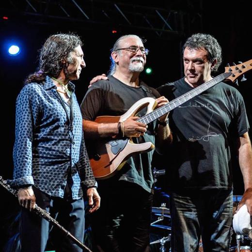 foto de Carles Benavent- Tino Di Geraldo- Jorge Pardo  trio